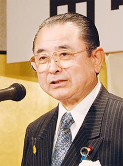 国政報告を行う田中氏