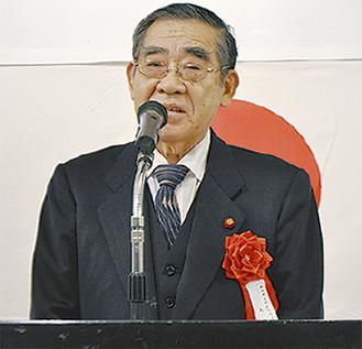 島田潤二会長(田島中央地区)