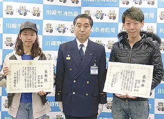 深澤さん(右)と村上さん(左)