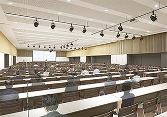 ホールの完成イメージ