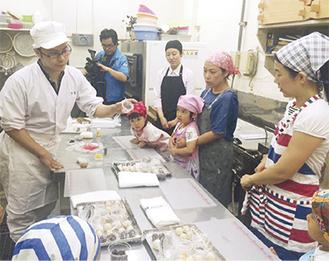 和菓子店で開かれた街ゼミ(昨年)