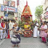 川崎東口でインド伝統祭