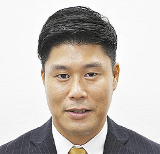 立候補予定者の栄居氏