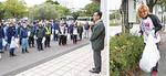 (左)市職員も含め、総勢1100人が集結した。(右)ディアナの社長兼、看板レスラー井上京子さんも参加