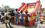 子どもに人気の大型滑り台