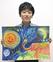県最大級絵画コンテストで受賞