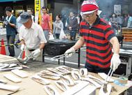 今年も大漁さんま祭り