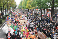 新川通り使い一大パレード