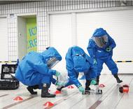 アゼリアでテロ対策訓練
