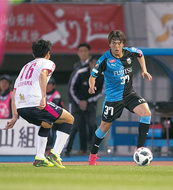 齋藤選手がサッカー教室