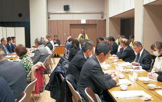 川崎大師信徒会館で行われた協議会