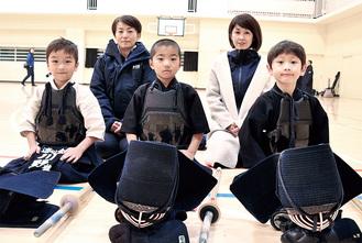 子ども達から刺激を受け剣道を始めたママさん