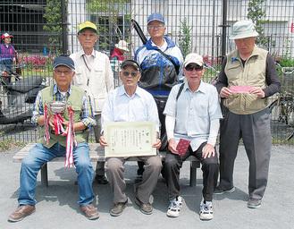 優勝した鹿島田町内会Bチーム