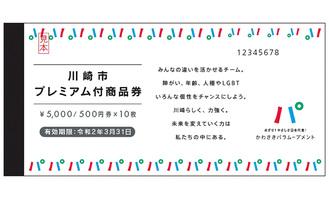 今月24日から販売開始されるプレミアム付商品券