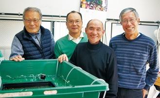 左から大野さん、新井さん、須藤さん、青木さん