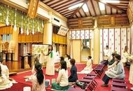 稲毛神社で冬至祭