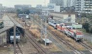 鉄道のまちをアピール