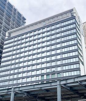 市内最大級の宿泊施設