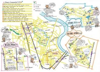 地図内には地域の小ネタも