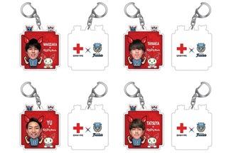献血協力者にプレゼントされるオリジナルキーホルダー©川崎フロンターレ