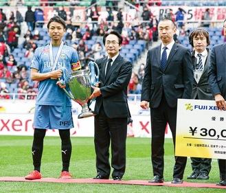 2年前の同杯で優勝したフロンターレ写真はいずれも©川崎フロンターレ