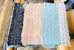 カラフルなさをり織り=FLAT提供