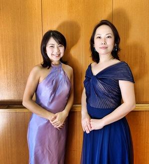 出演の片山さんと川原さん(左から)