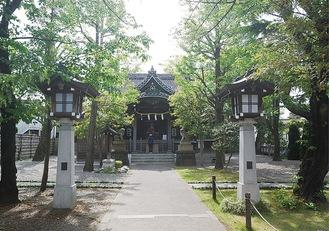 16日に神事を行う日枝大神社