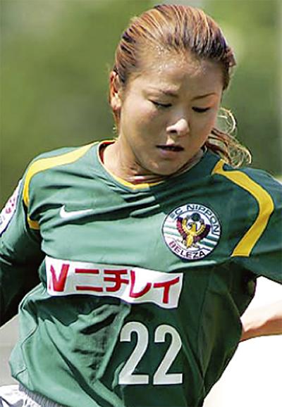 イベントを主催する川上直子さん イベントを主催する川上直子さん 川崎区港町にあるフットサルポイン