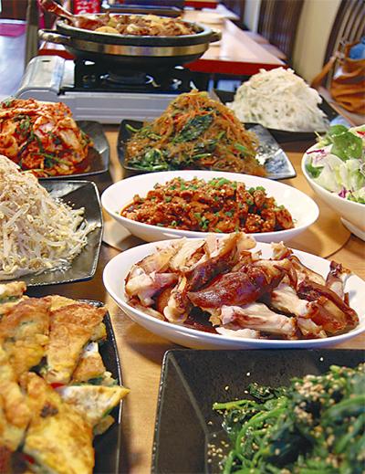 テレビでも話題の韓国料理店