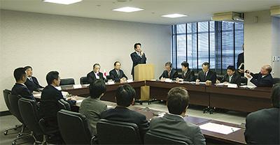 日韓友好市議連が設立