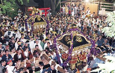 稲毛神社で山王祭