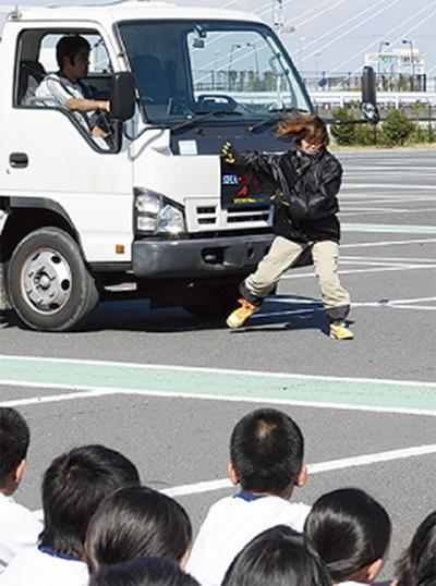 交通事故の恐ろしさ学ぶ