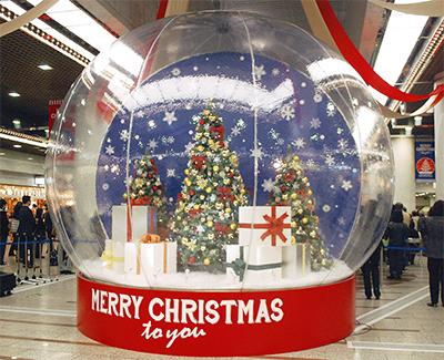 早くもクリスマスムード