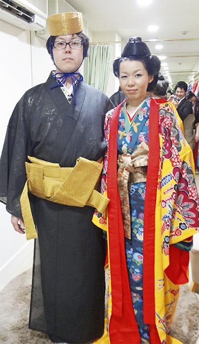 チッタで琉装結婚式