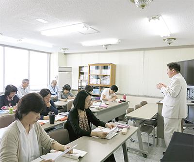 民団で韓国語講座