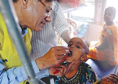 ポリオ撲滅へあと一歩