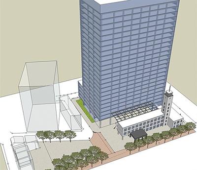 本庁舎建替え計画案発表