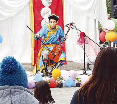 京町彩った花と音楽