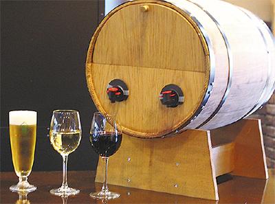 夏季限定で生ビールが半額、ワイン飲み放題がお得