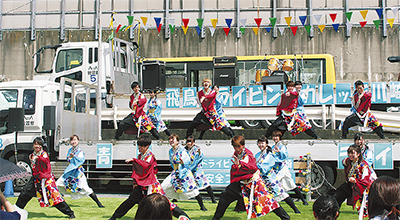 多様な車両を使いイベント開催