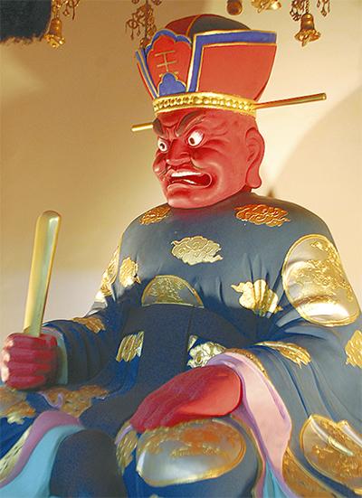 閻魔大王像を特別公開