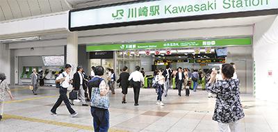 川崎の新しい玄関口オープン