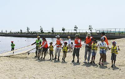 川崎港で環境学ぼう