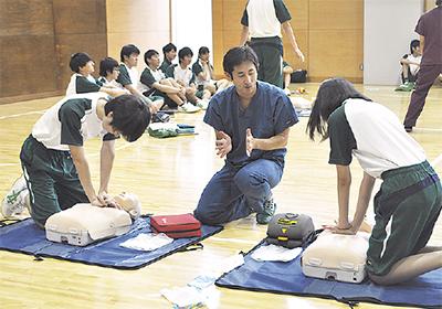 川崎幸病院が出張授業