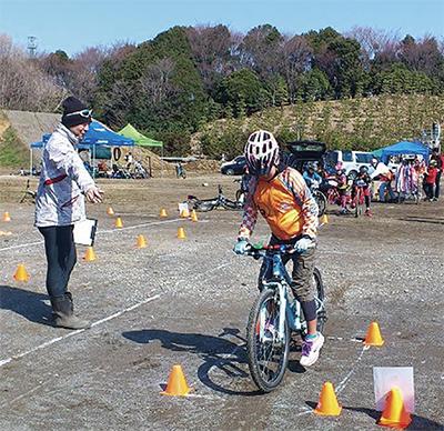 小学生対象の自転車教室