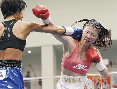 四宮選手 TKO勝ち