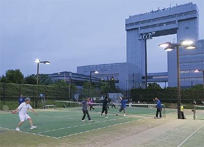 マリエンでテニス教室