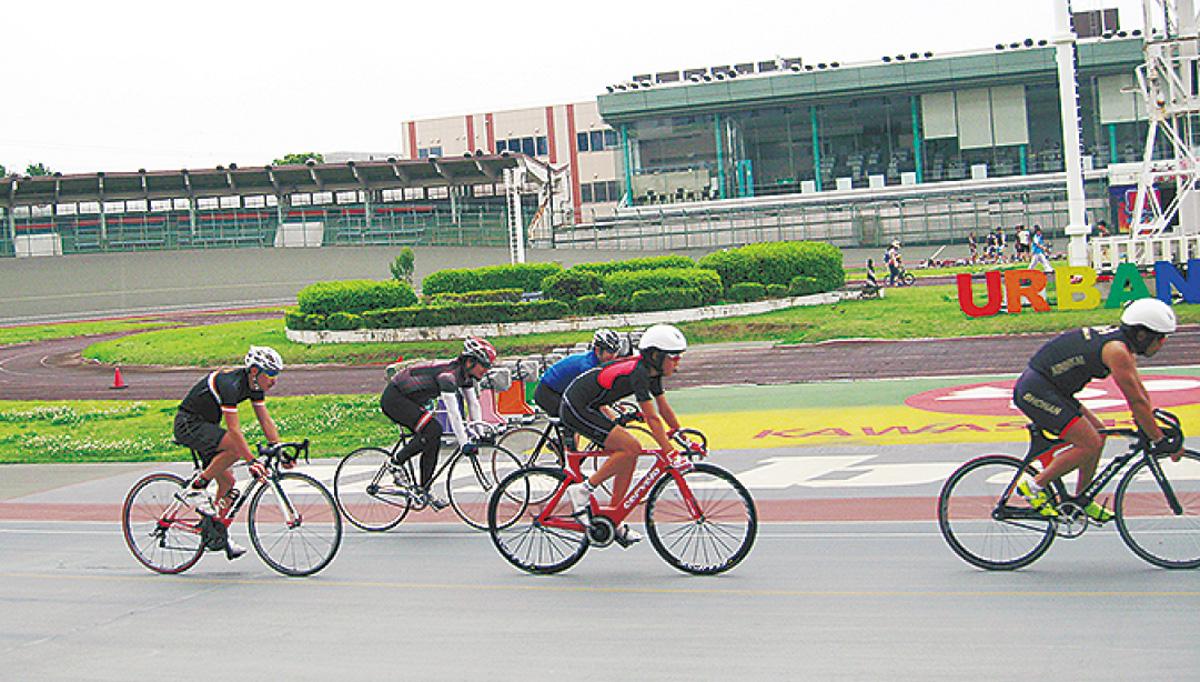 競技自転車で体験教室