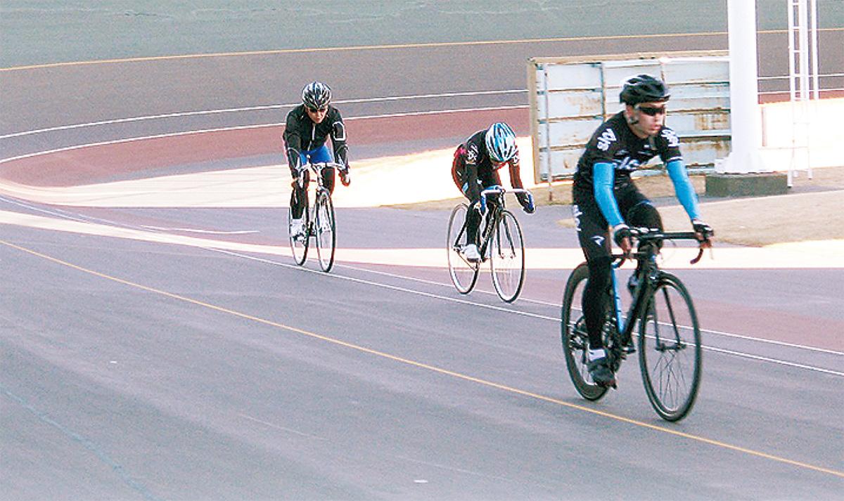 競技自転車体験しよう